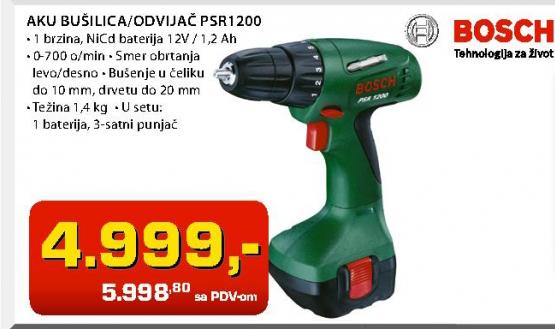Aku Bušilica/Odvijač Psr1200