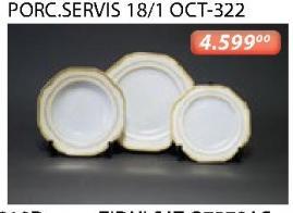Porcelanski Servis Za Ručavanje 18/1 oct-322