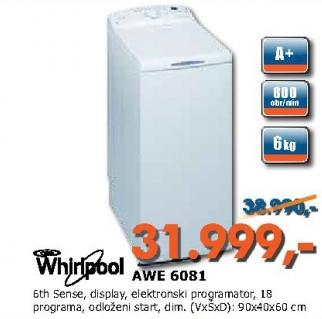 Sudomašina AWE 6081