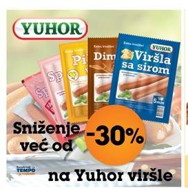 -30% na Yuhor viršle