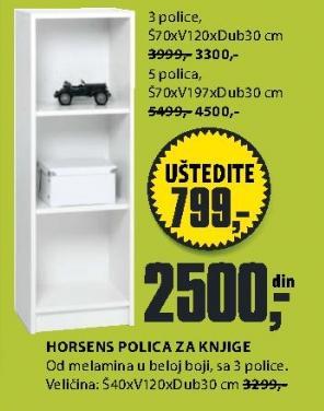 Polica za knige Horsens