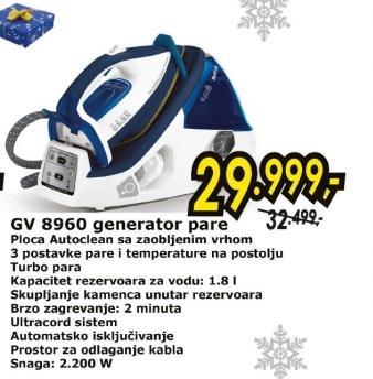 Generator pare GV 8960