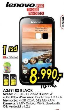 Mobilni telefon A3691i Rs Black