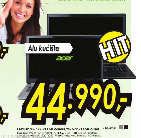 Laptop Aspire V5-572-21174G50akk