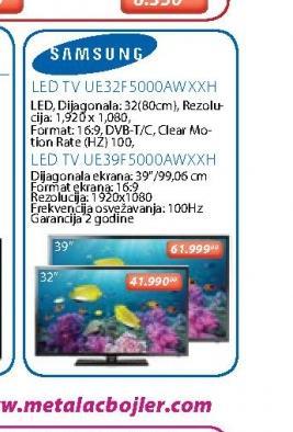 LED Televizor UE32F5000