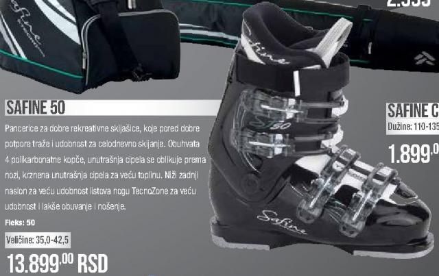 Ski čizme/pancerice Safine 50