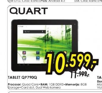 Tablet Quart QP790Q