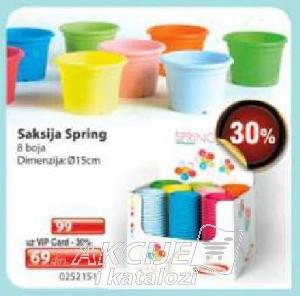 Saksija Spring