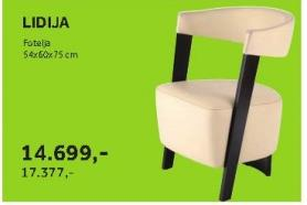 Fotelja LIDIJA
