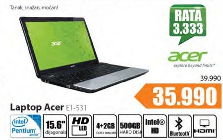 Laptop E1-531