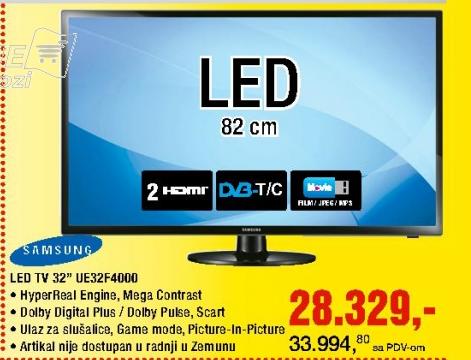 Televizor LED UE32-F4000