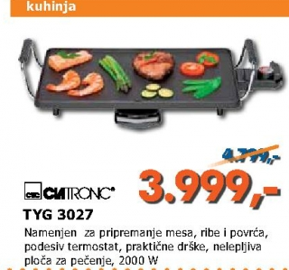 Električni roštilj TYG 3027