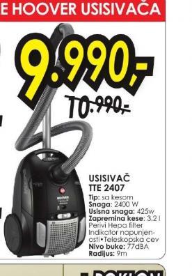 Usisivač TTE 2407