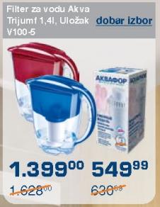 Filter za vodu Akva Triumf 1,4l