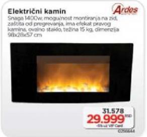 Električni kamin