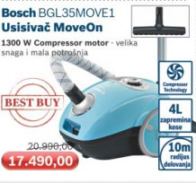Usisivač BGL35MOVE1
