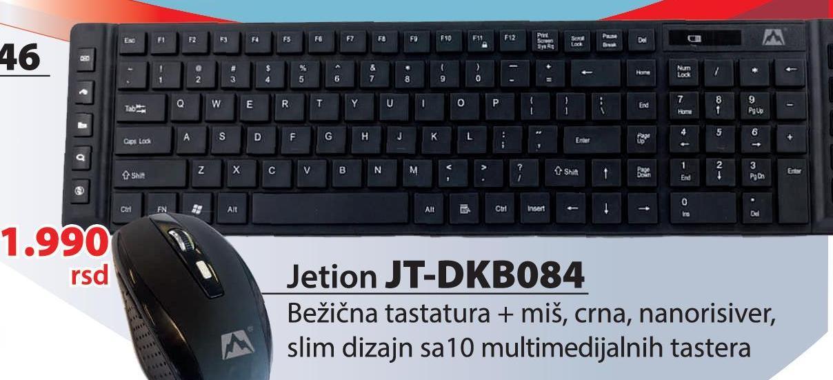 Tastatura i miš JT-DKB084