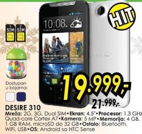 Mobilni telefon Desire 310