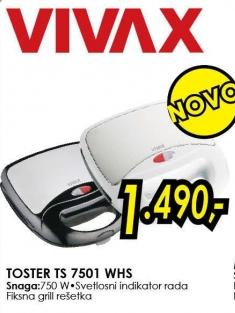 Toster Ts 7501 Whs