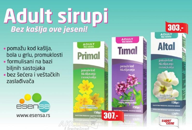 Adult sirup Timal