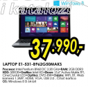 Laptop Aspire E1 531 B962G50MAKS