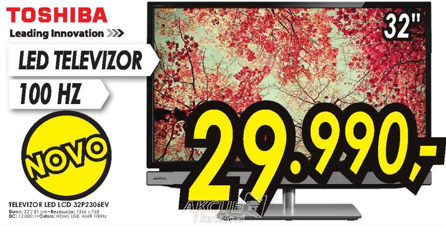 Televizor LED LCD 32P2306EV