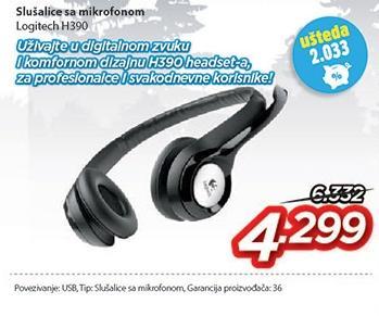 Slušalice H390
