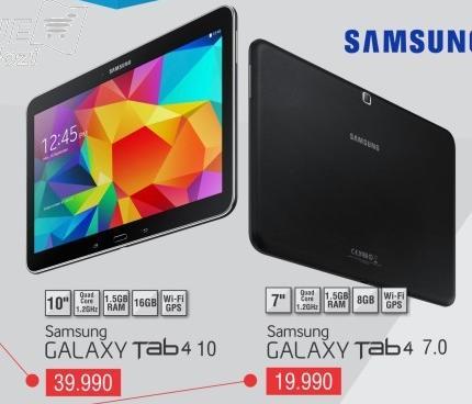 Tablet Galaxy Tab4 10
