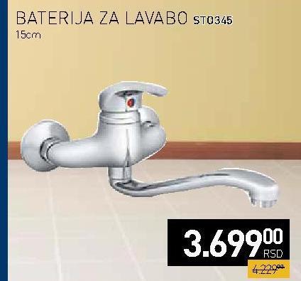 Baterija za lavabo ST0345