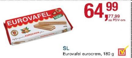 Napolitanke eurocrem
