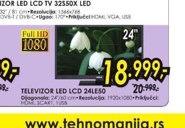 Televizor LED TV 24LE50