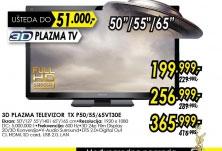 3D televizor plazma TX-P65VT30E