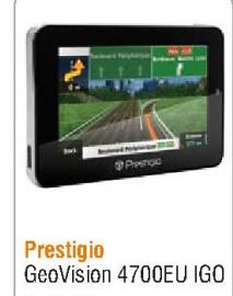 GPS Prestigio Geovision 4700EU IGO