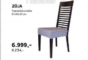 Trpezarijska stolica Zoja