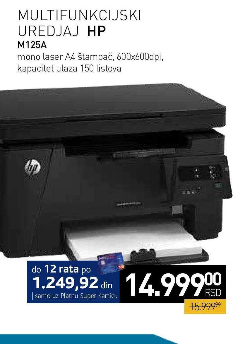 Laserjet štampač M125A