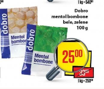 Bombone mentol