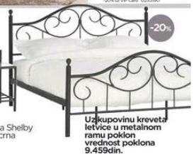 Krevet SHELBY