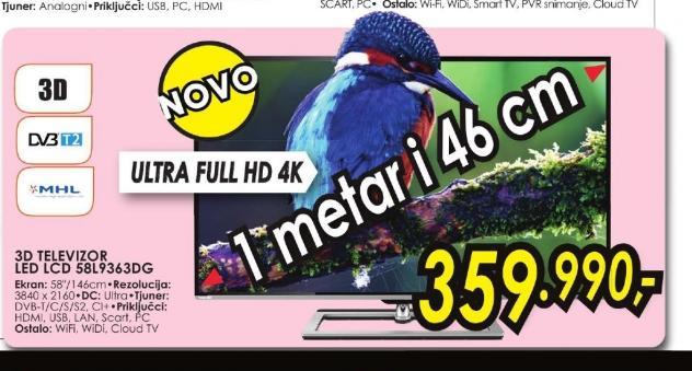 Televizor LED 58L9363DG