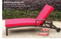Baštenska ležaljka Lux