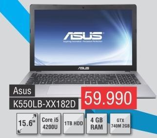 Laptop K550lb-Xx182d
