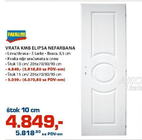 Vrata KMB elipsa