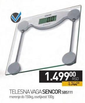 Telesna vaga Sbs111