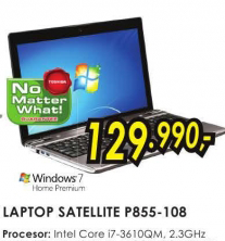 Laptop Satellite 3D P855-108