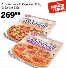 Smrznuta pizza es capricciosa