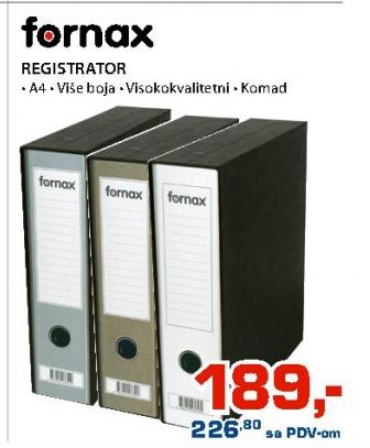 Registrator Fornax