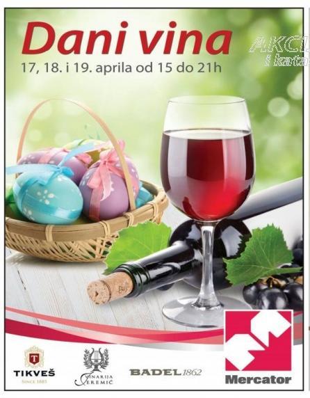 Dani vina 17. 18. i 19. aprila