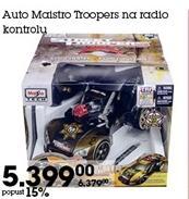 Auto Maistro Troopers na radio kontrolu
