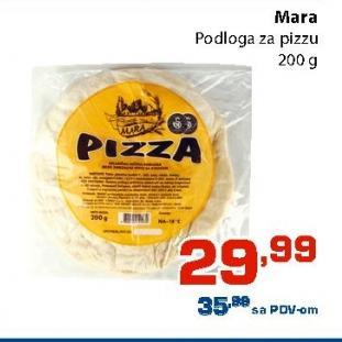 Smrznuta podloga za pizzu