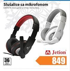 Slušalice sa mikrofonom DEPO79
