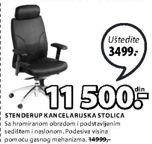 Kancelarijska stolica Stenderup